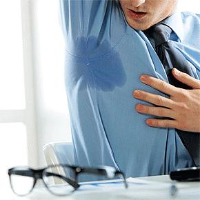 Hiperhidrosis axilar sudor excesivo en axilas