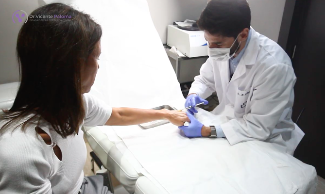 Dr. Vicente Paloma | Rejuvenecimiento manos DrMartin Delgado